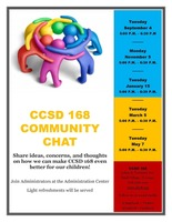 CCSD 168 Community Chat