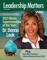 Leadership Matters - 2021 Illinois Superintendent of the Year!
