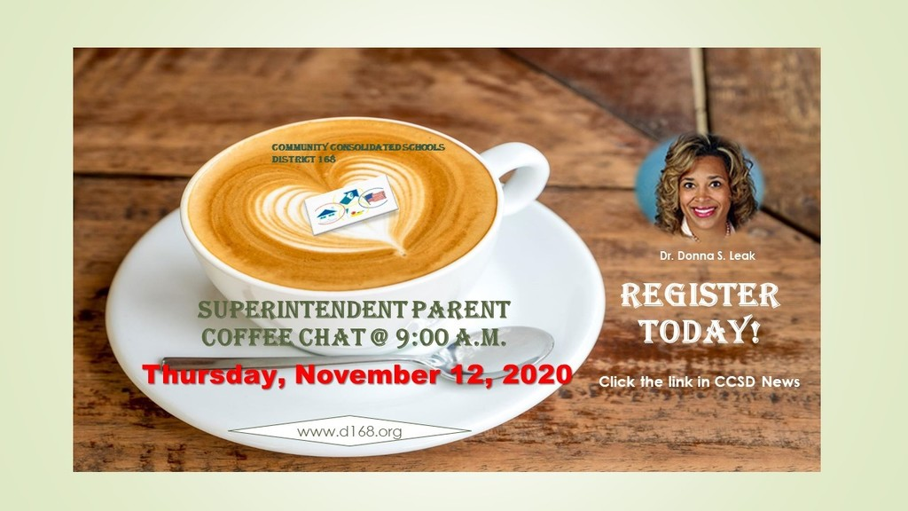 Register Today for Superintendent Parent Coffee Chat!