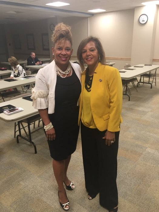 Meeting with Congresswoman Robin Kelly