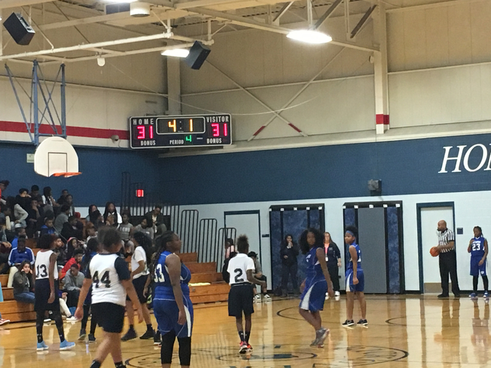 Lady Raiders force overtime!