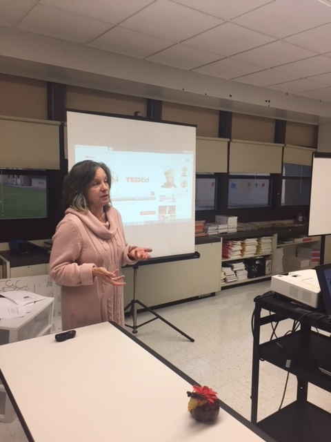 "#d168excels The Human Resources Department hosts Traditions' New Teachers Program ""Stress Management for Teachers."" Thank you Cathy Rook from Sertoma Center, Inc. for presenting."