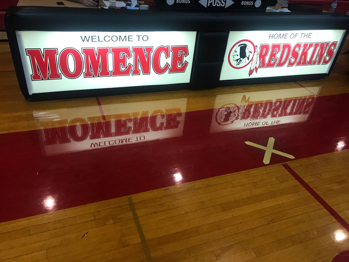 The Lady Raiders are in Momence