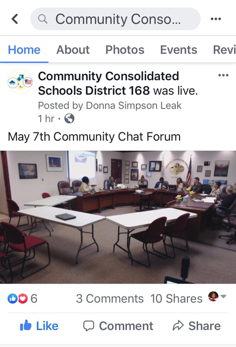 May 7, 2019 Community Chat on Facebook Live