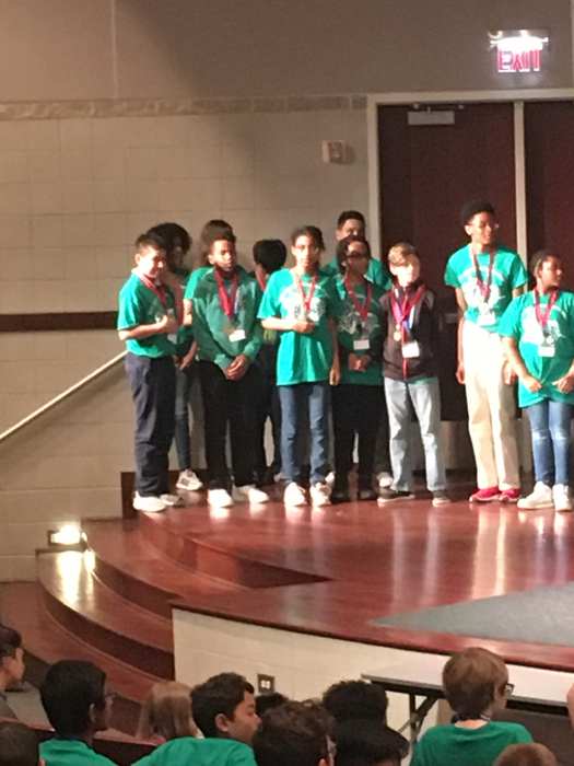 CCSD 168 Math Bowl MVP 2019