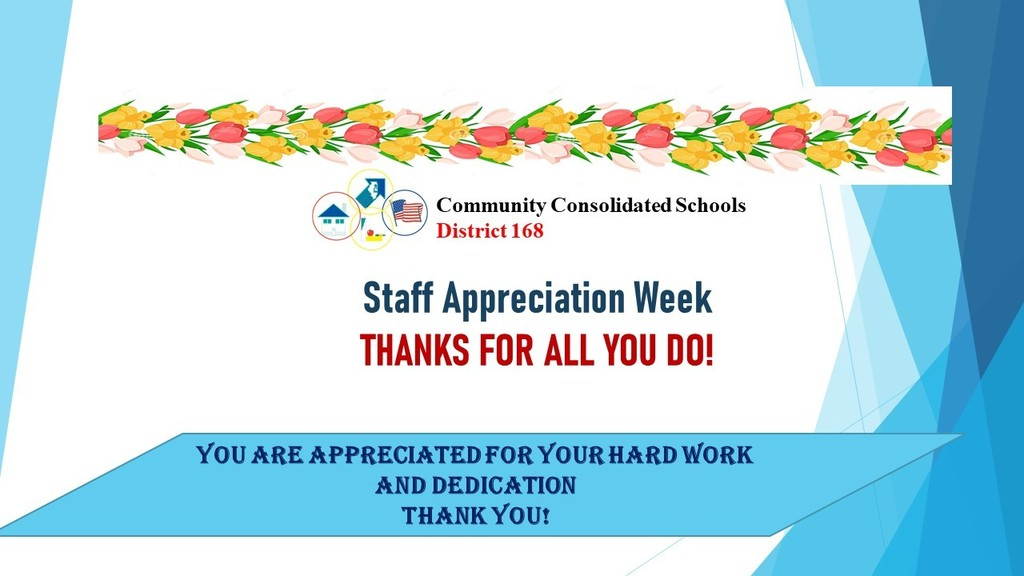 Teachers and Staff Appreciation Week - Thank You!