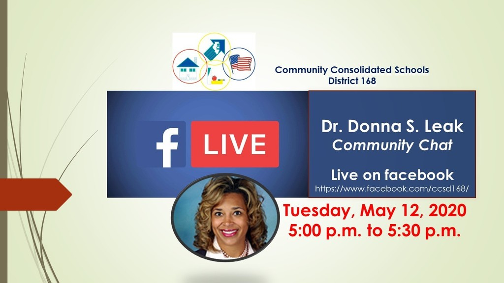 Dr. Donna S. Leak Live on Facebook, May 12, 2020 at 5:00 p.m.