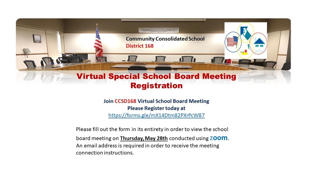 Register for Special Board Meeting