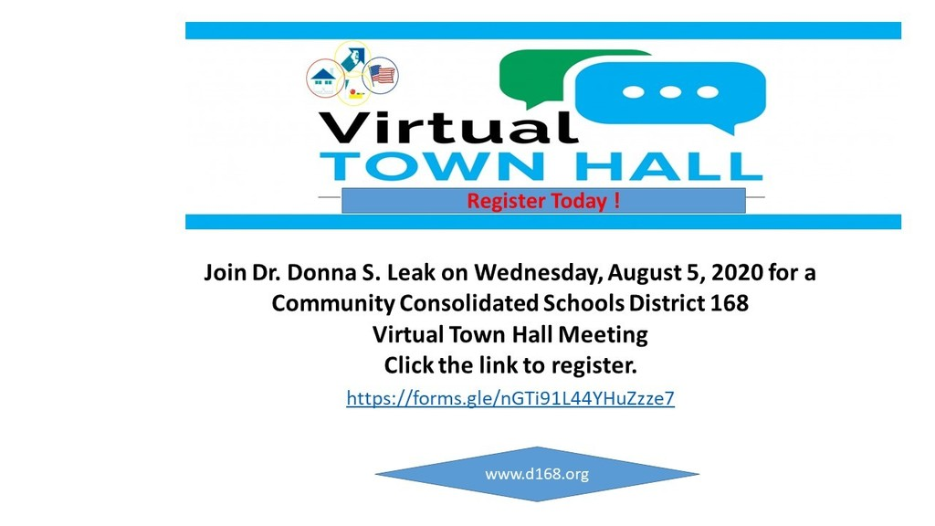 Register Today for Virtual Town Hall Meeting